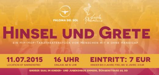 Flyer Hinsel und Grete 11.07